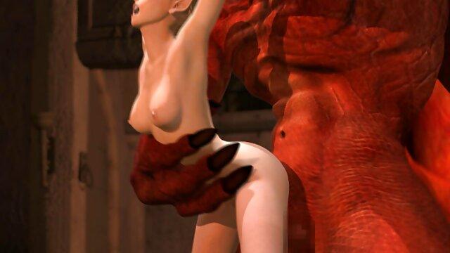 XXX nessuna registrazione  Redhead Thumbelina si fa scopare con un grosso fallo elefante. video porno gratis di massaggi
